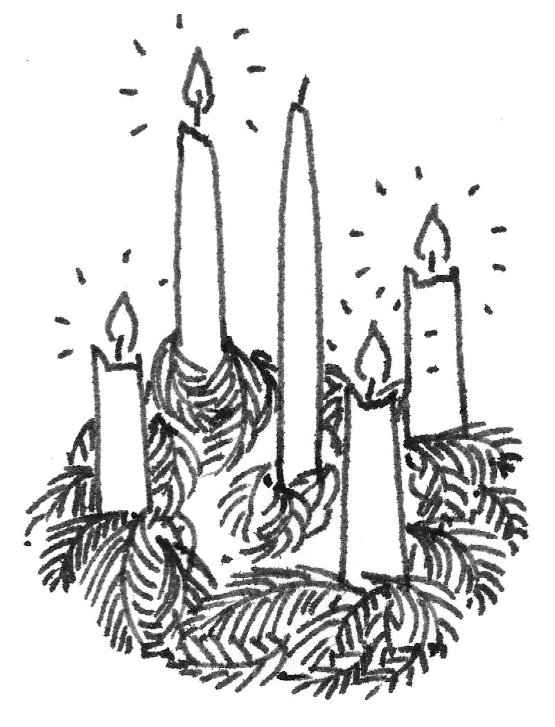 B w clipart advent wreath picture library download Free Advent Wreath Cliparts, Download Free Clip Art, Free Clip Art ... picture library download