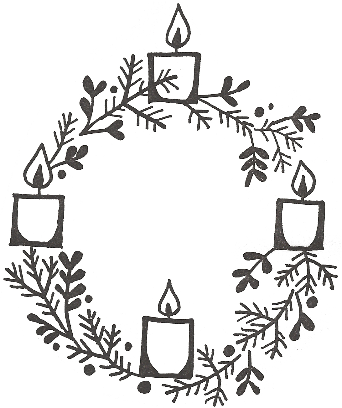 Advent season 2018 clipart clip art royalty free library Clipart advent wreath clip art – Gclipart.com clip art royalty free library