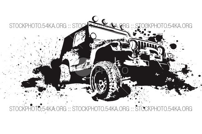4x4 car transfer unit clipart svg free download Clipart 4x4 - ClipartFest svg free download