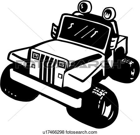 4x4 car transfer unit clipart image stock Classic 4x4 jeep clipart - ClipartFox image stock