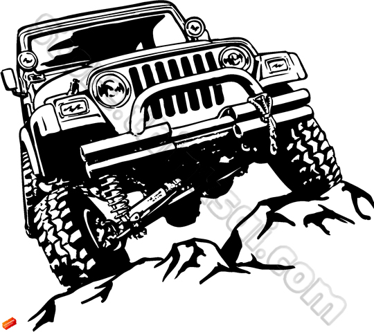 4x4 car transfer unit clipart banner black and white 4x4 jeep clipart - ClipartFox banner black and white