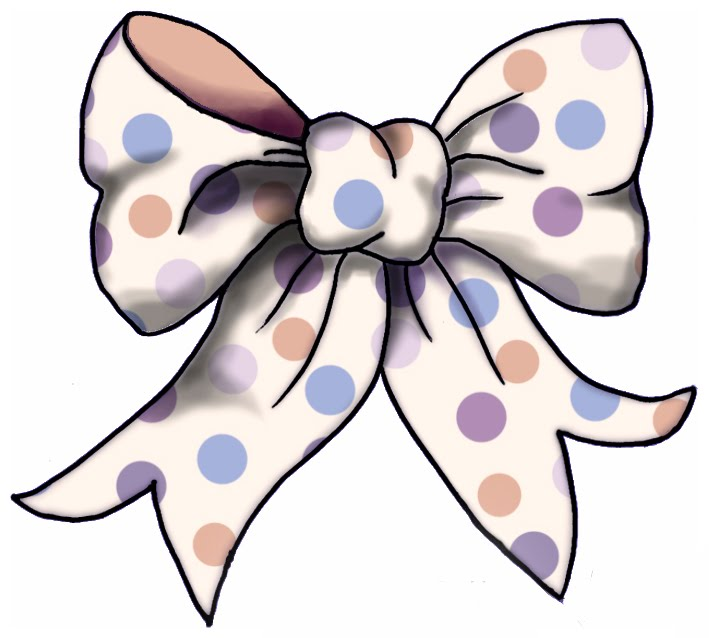 Bow clip art image. Free clipart of bows