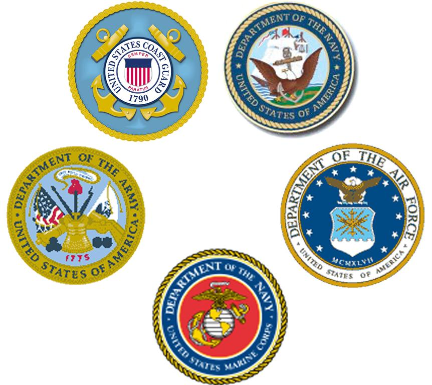 5 branches of military clipart clipart royalty free download Branches Of Military Clipart clipart royalty free download