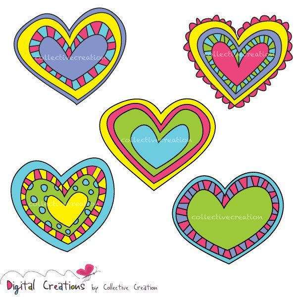 5 hearts clipart banner freeuse download 5 hearts clipart 2 » Clipart Portal banner freeuse download
