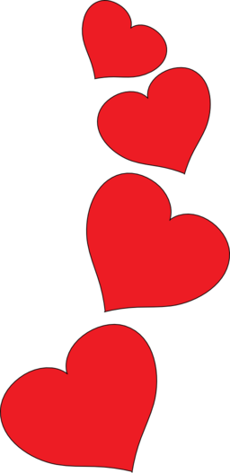 5 hearts clipart banner library library Hearts heart clipart 5 – Gclipart.com banner library library