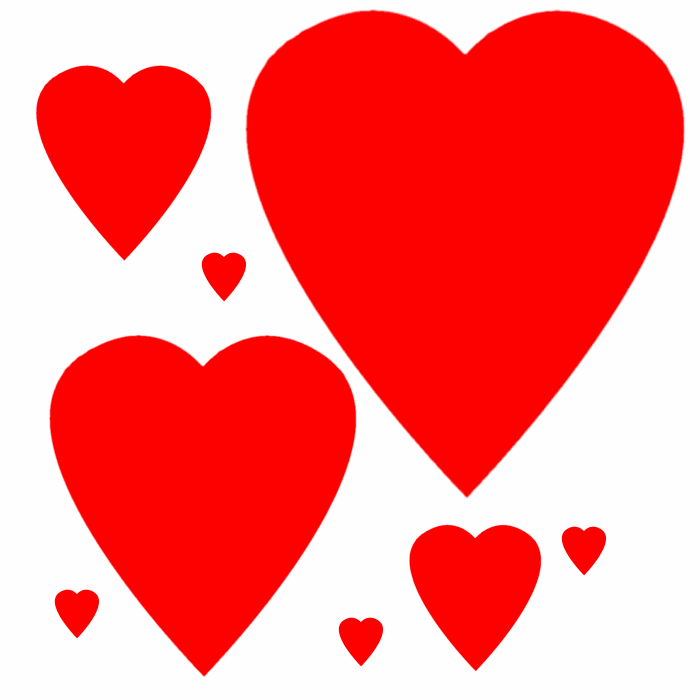 5 hearts clipart vector black and white library Free Hearts Images Free, Download Free Clip Art, Free Clip Art on ... vector black and white library