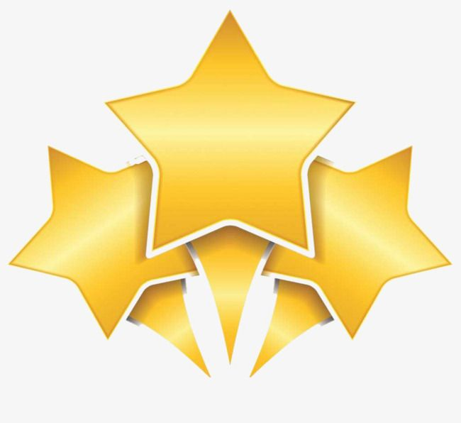 5 in a star clipart graphic free library Golden Three Five Stars, Golden, Five Star, Radial PNG Transparent ... graphic free library