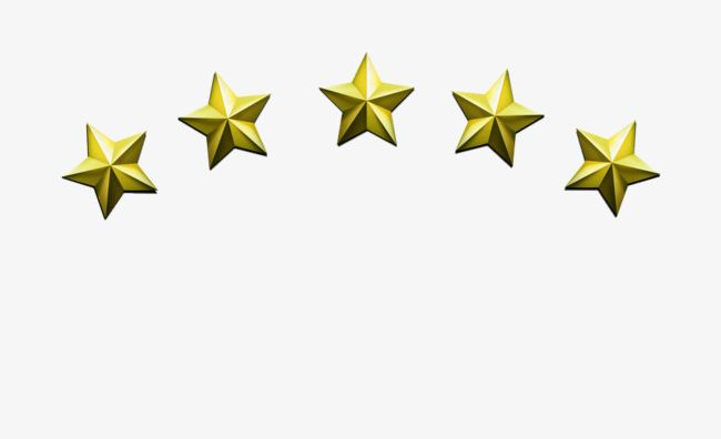 5 stars images clipart