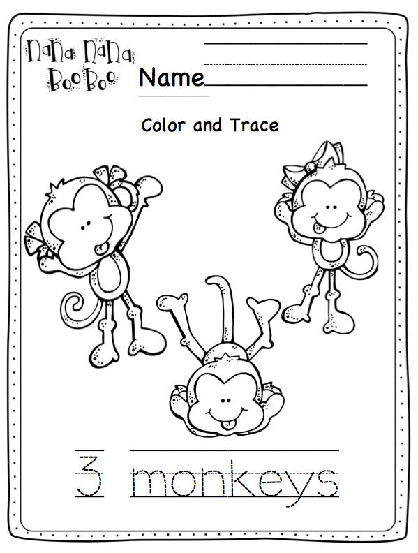 5 little monkeys alligator clipart clip art transparent stock Five Little Monkeys Swinging in a Tree\