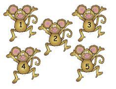 5 little monkeys clipart free svg black and white 88 Best Five Little Monkeys images in 2017 | Five little monkeys ... svg black and white