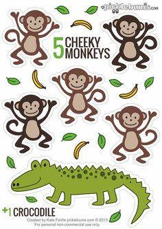 5 little monkeys clipart free clipart library stock 88 Best Five Little Monkeys images in 2017 | Five little monkeys ... clipart library stock