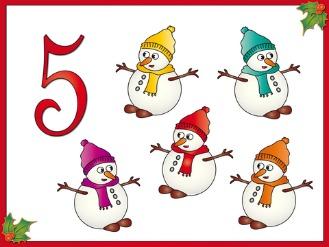 5 little snowman clipart banner freeuse Five little snowmen banner freeuse
