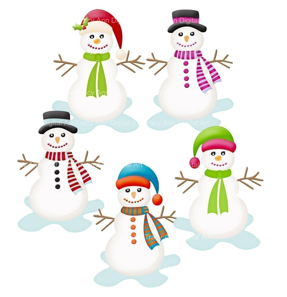 5 little snowman clipart black and white download storybookstephanie: Snowman black and white download