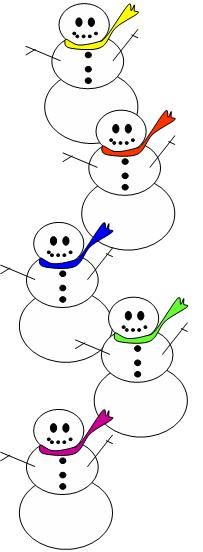 5 little snowman clipart jpg black and white download 7 Best snowman songs images in 2015   Snowman songs, Winter songs ... jpg black and white download