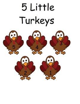 5 little turkey clipart svg royalty free stock 5 Little Turkey Clipart svg royalty free stock