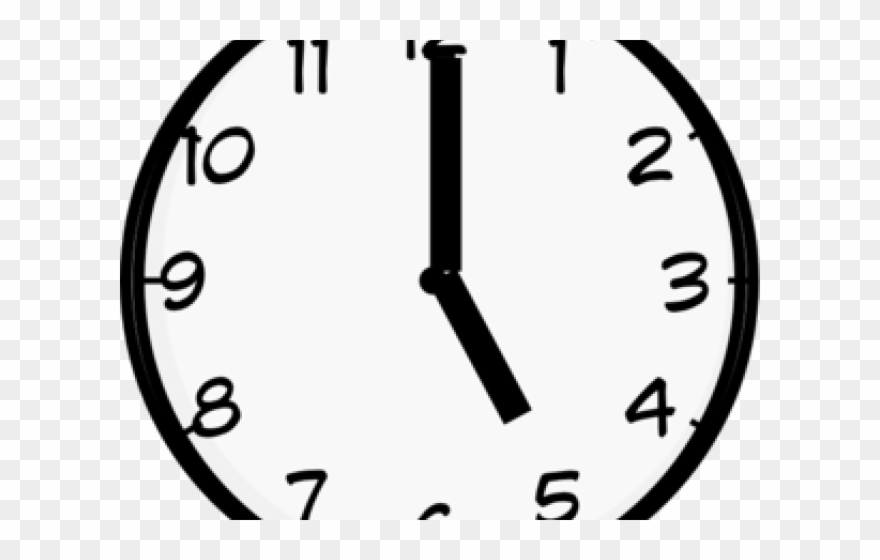 Clock without hands clipart black and white image freeuse stock Five Clipart Clock - Clock With No Hands - Png Download (#888579 ... image freeuse stock