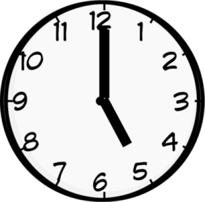 5 oclock clipart black and white clip art transparent library Download Free png 5 Oclock Png - DLPNG.com clip art transparent library