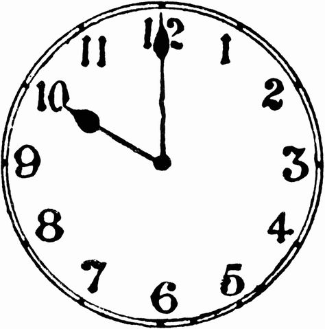 5 oclock clipart black and white image transparent library Pinterest image transparent library
