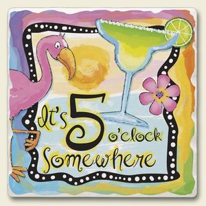 5 oclock somwhere clipart png black and white stock Pink Flamingo \