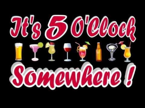 5 oclock somwhere clipart clip art royalty free download ALAN JACKSON/JIMMY BUFFET - IT\'S 5 O\'CLOCK SOMEWHERE clip art royalty free download