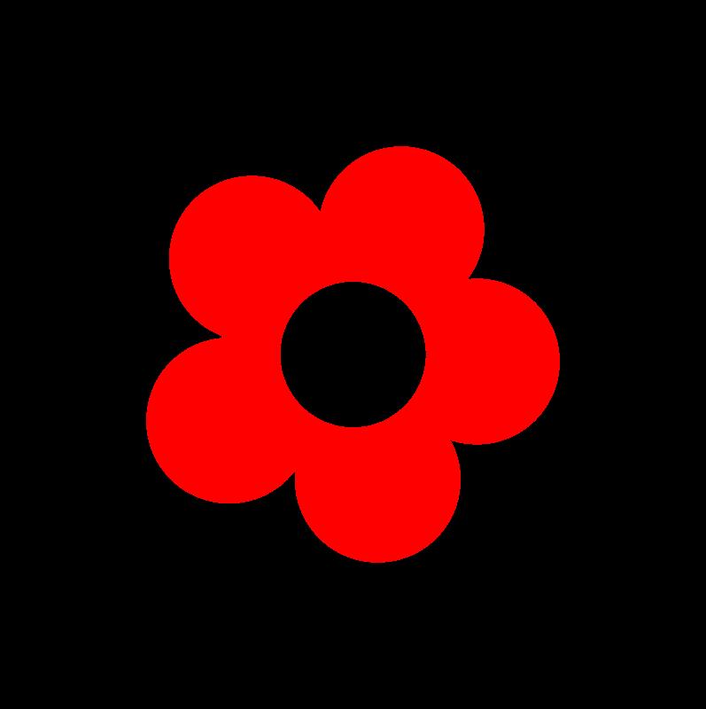 5 petal flower clipart clip transparent download Clipart - Flower5 Stylish clip transparent download