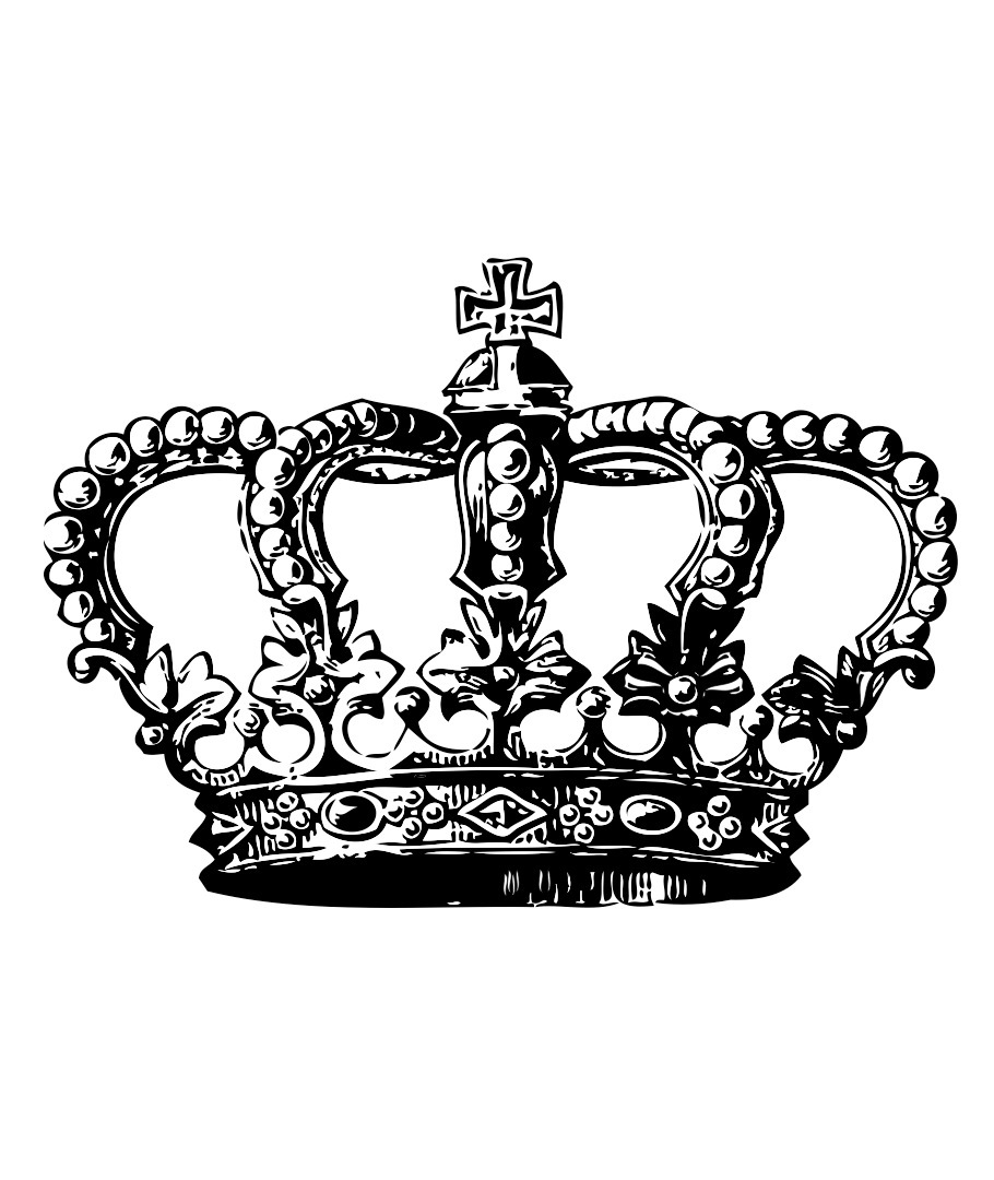 Irish crown clipart clip art black and white library 16+ Queen Crown Tattoo Designs | crowns | Pinterest | Queen crown ... clip art black and white library