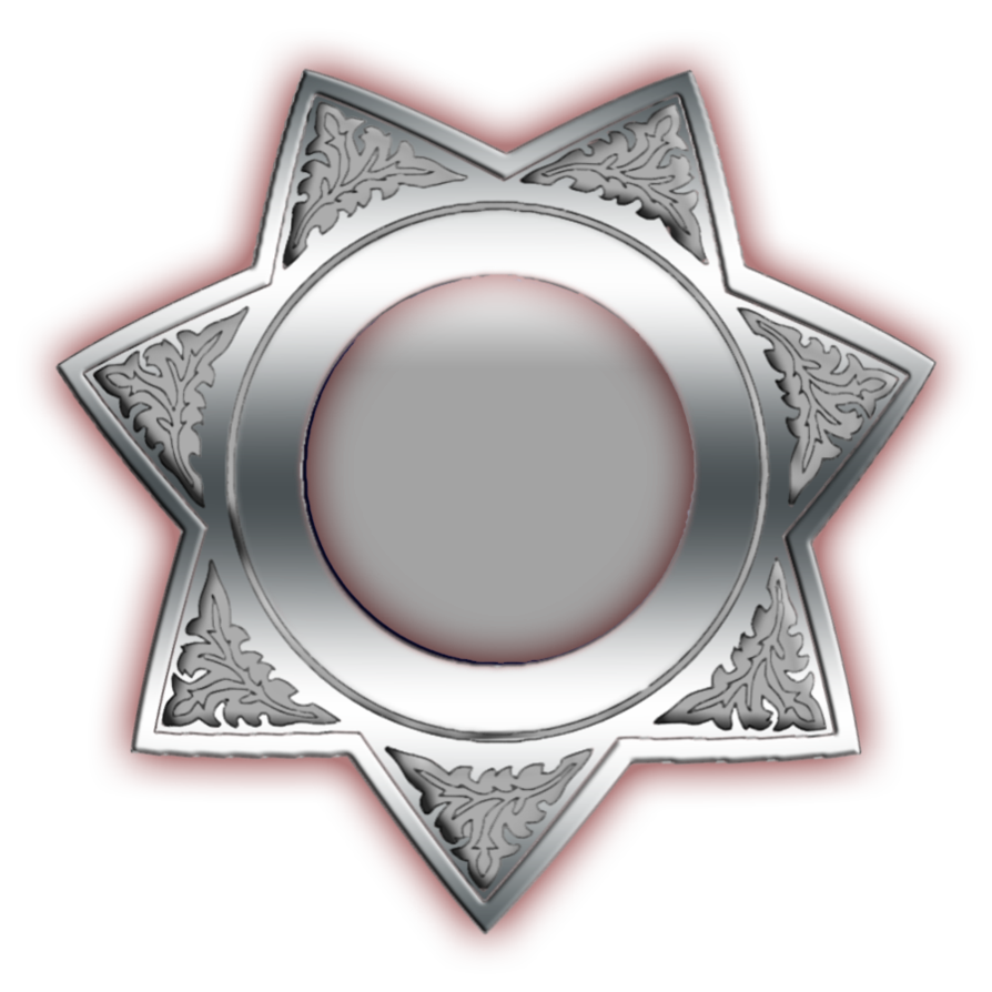 5 point star badge clipart clip transparent Police Badge by great-mojo on DeviantArt clip transparent