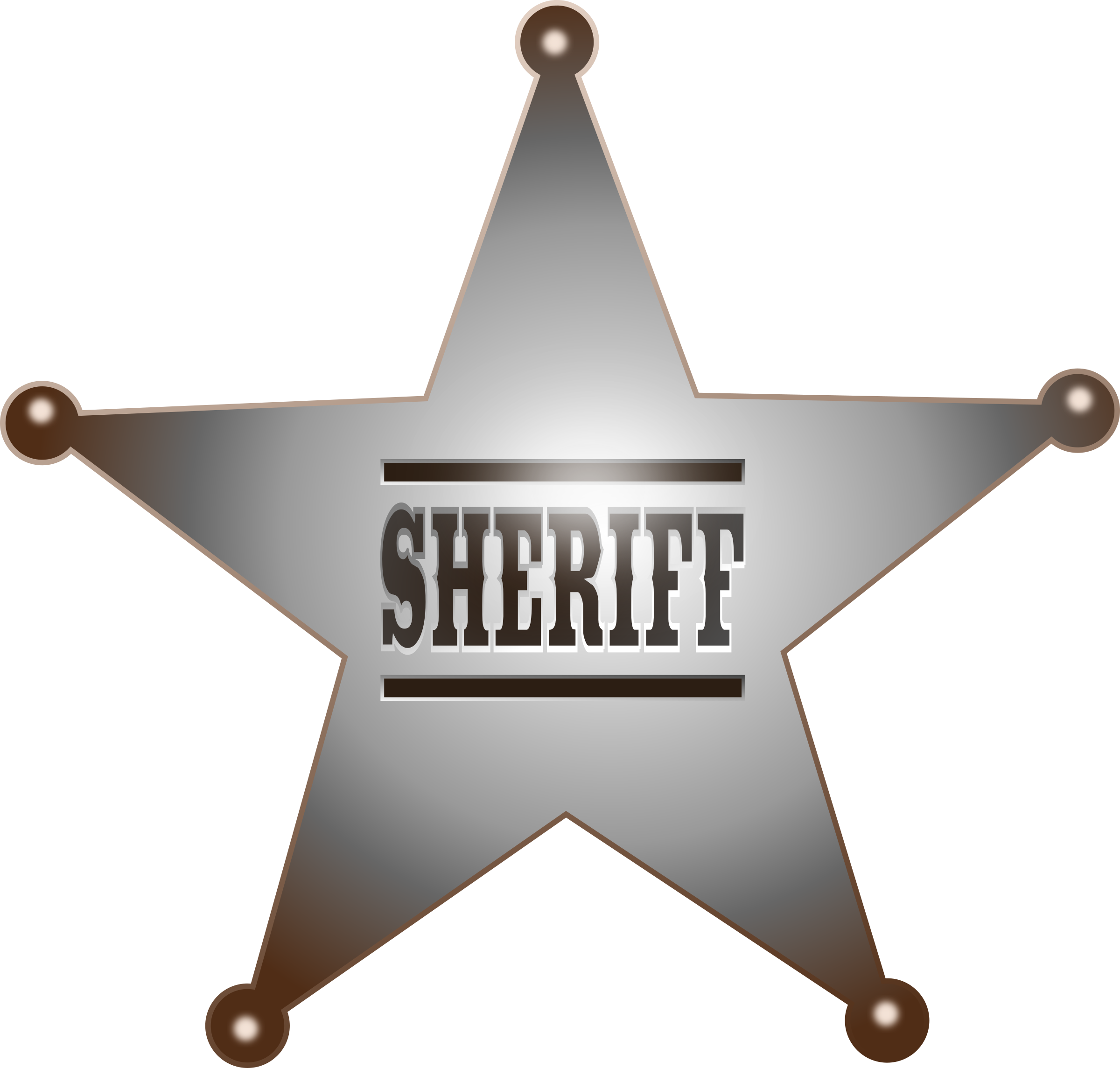 Sherriff star clipart clip royalty free download Sheriff Star (63+) clip royalty free download