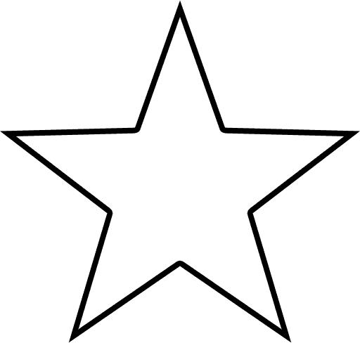 5 star clipart outline blank clip transparent stock Texas Star Outline   star outline shape   Recipes to Cook   Star ... clip transparent stock