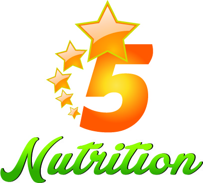 Entry #477 by creativegupta for Design a Logo - 5 Star Nutrition ... image download