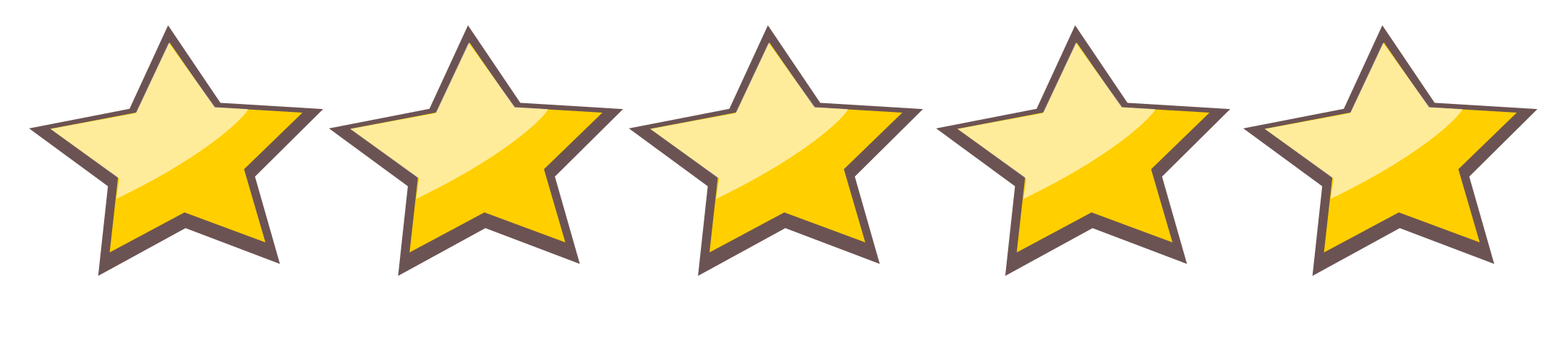 Five star rating clipart png library Book Review Policy png library