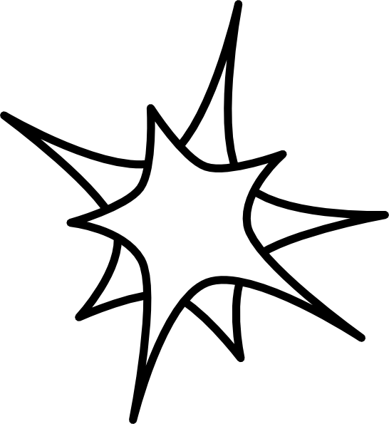 Outline star clipart jpg free download Double Star Clip Art at Clker.com - vector clip art online, royalty ... jpg free download