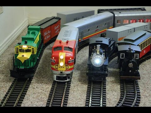 5 trains and each train is bigger images clipart graphic Big model trains running inside my small house graphic