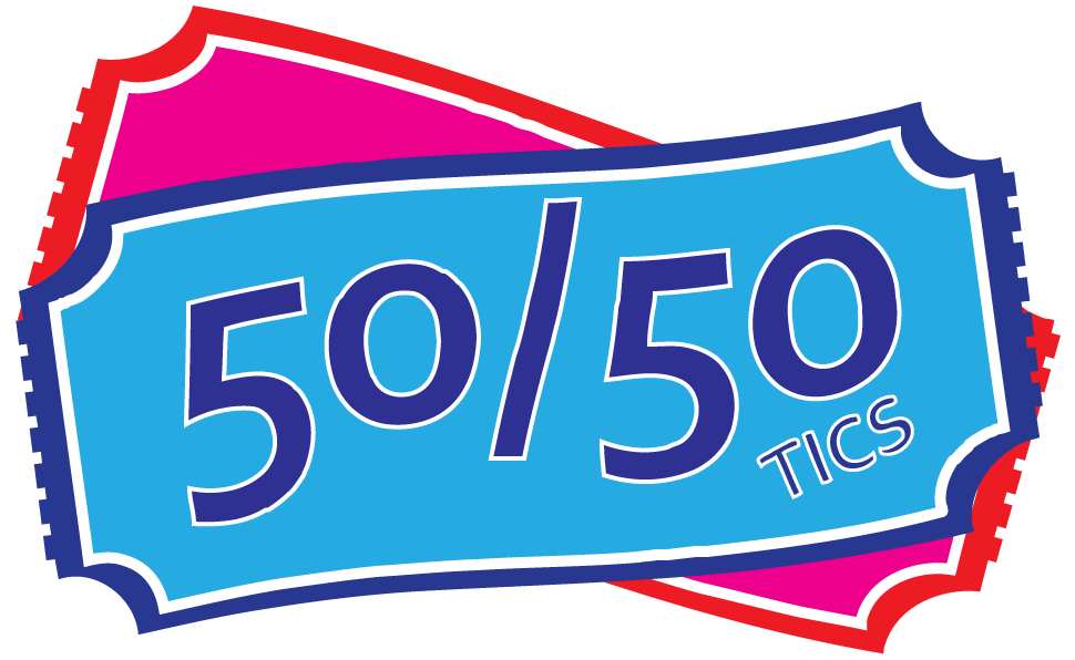 50 50 draw clipart vector black and white download 50/50 Tics - Buy and Sell 50/50 Tickets from a Self Serve Kiosk vector black and white download