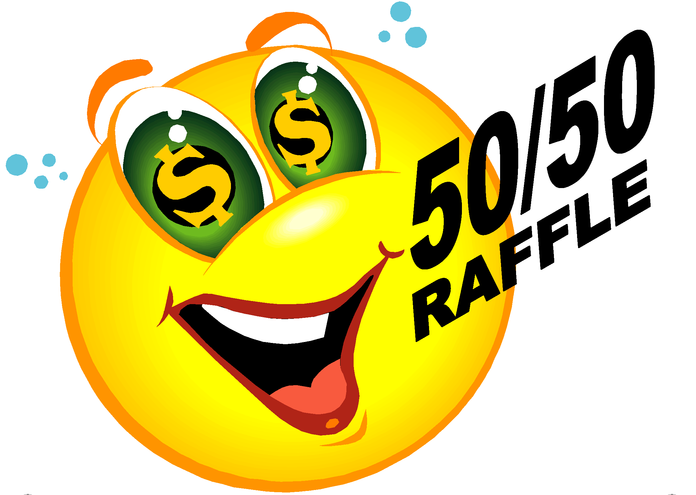50 50 raffle clipart picture free download 50 50 draw clipart - ClipartFest picture free download
