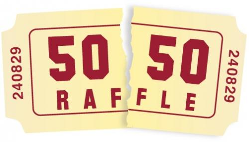 50 50 raffle clipart template image black and white download 50 50 raffle ticket template - Clip Art Library image black and white download