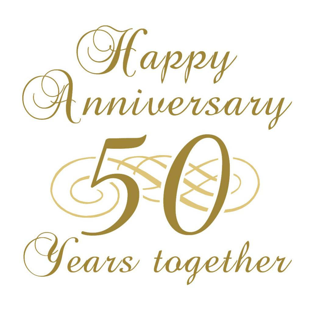 Clipart 50th wedding anniversary picture free stock 50th Wedding Anniversary Clipart Happy - Clipart1001 - Free Cliparts picture free stock