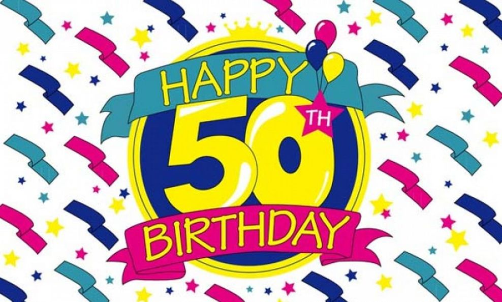Free clipart happy 50th birthday banner free download Happy 50th Birthday Clipart Book 2726 - Clipart1001 - Free Cliparts banner free download