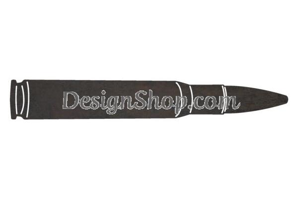 50 cal bullet clipart image free download 50 Caliber Bullet DXF File for CNC image free download