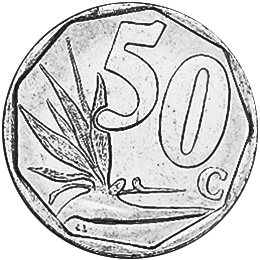 50 cents piececoins clipart black and white picture black and white library South Africa 50 Cents KM 294 Prices & Values | NGC picture black and white library