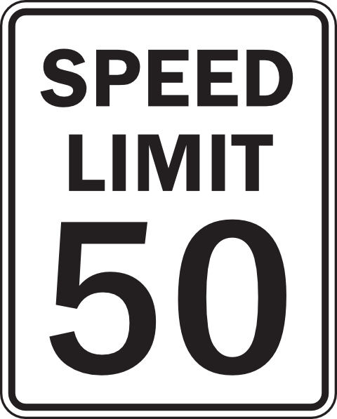 50 clipart clip library library Speed Limit 50 Clip Art at Clker.com - vector clip art online ... clip library library