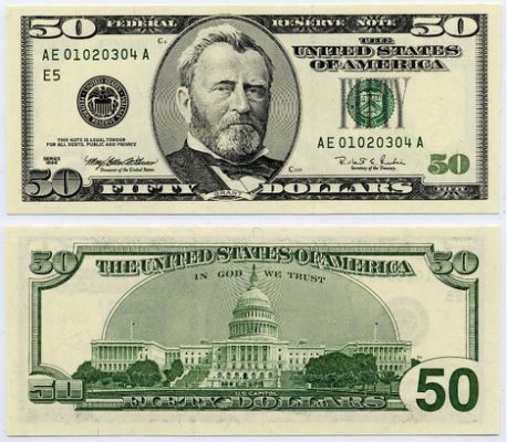 50 dollar bill folded clipart image library stock u.s. fifty dollar bill | 1996 $50 | jeff | Dollar money, 100 dollar ... image library stock