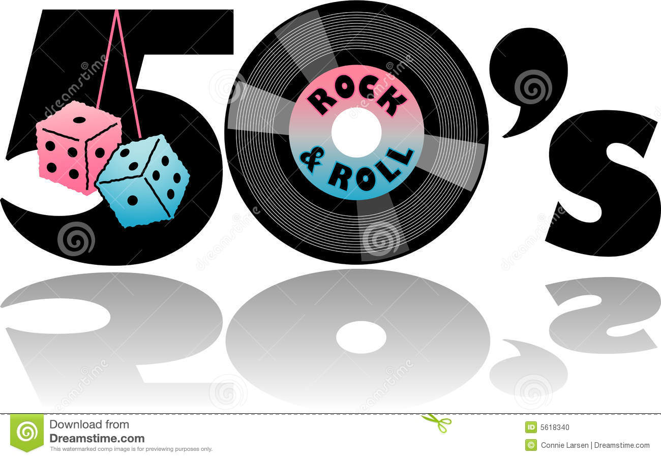50 s clipart image free stock 50s Records Clipart - Clipart Kid image free stock