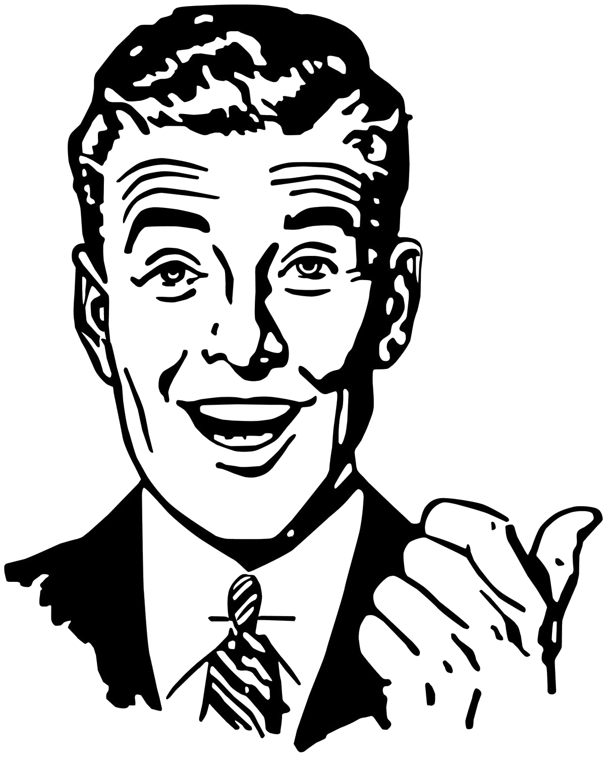 50 s guy clipart free vector Man From 50s Png & Free Man From 50s.png Transparent Images #19158 ... vector