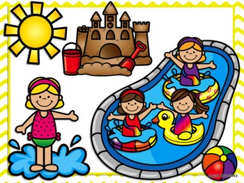 Kids in summer clipart picture freeuse library Summer Kids Clipart picture freeuse library