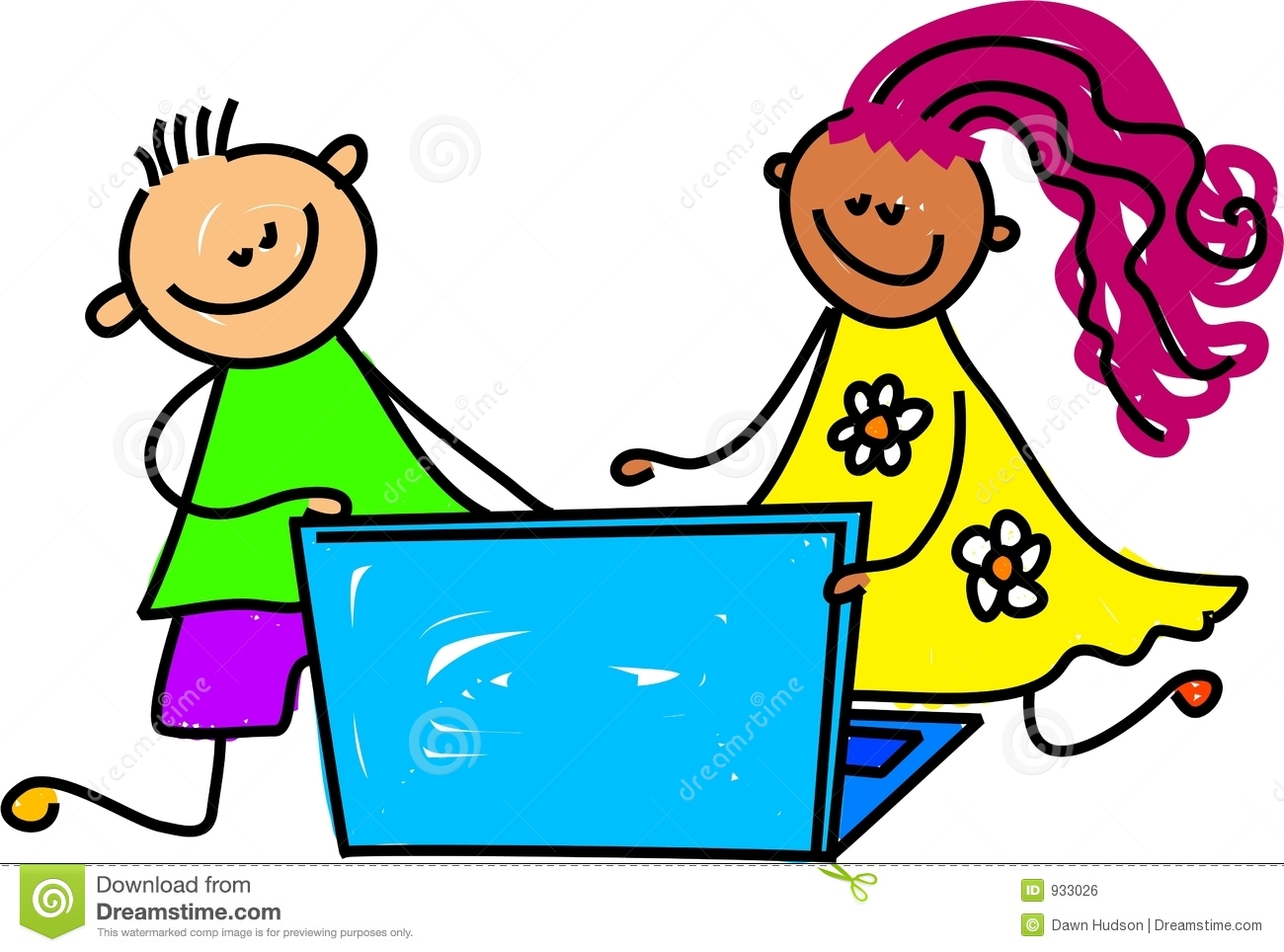 50 s kids clipart svg freeuse library Computer Class Clipart   Free download best Computer Class Clipart ... svg freeuse library