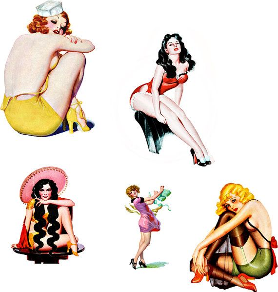 Clipart pin up png freeuse download Free Free Pin Up Art, Download Free Clip Art, Free Clip Art on ... png freeuse download