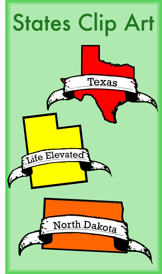 50 states clip art graphic free stock 10+ bilder om Geography: United States på Pinterest | Clip art ... graphic free stock