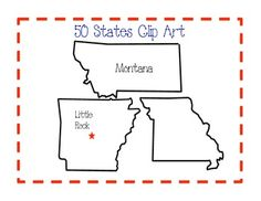 50 states clip art clipart freeuse library Clipart states outline - ClipartFest clipart freeuse library