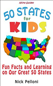 50 states clipart png library library Amazon.com: Nick's Guides - 50 States for Kids - Fun Facts and ... png library library